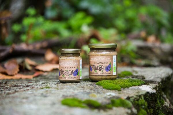 caviar bio d'aubergines de Porquerolles